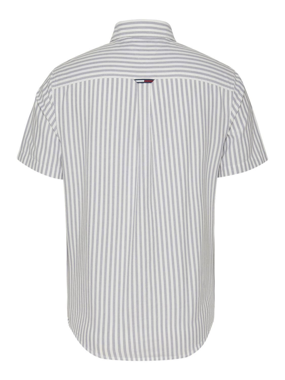 TOMMY HILFIGER - shortsleeve stribet skjorte | Gate36 Hobro