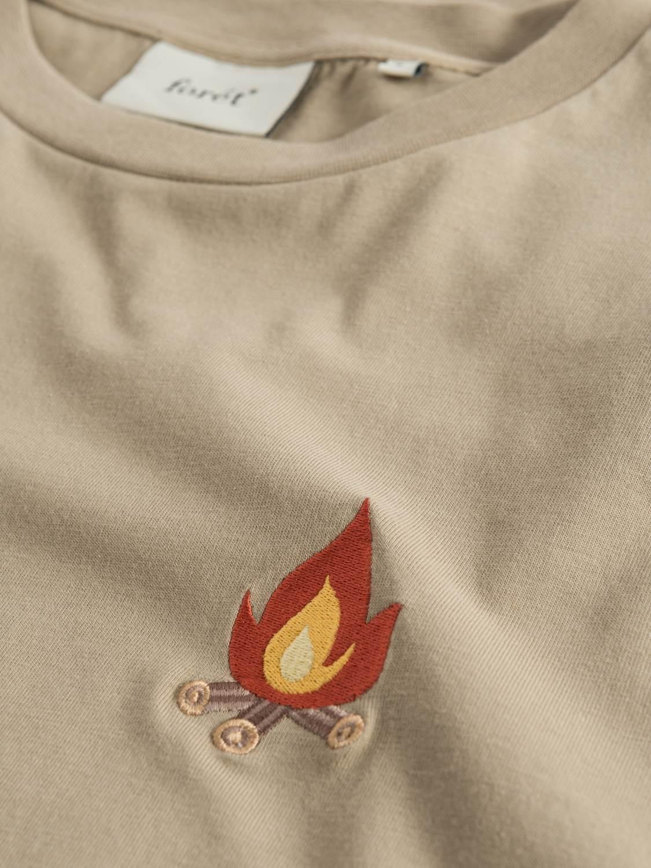 FORÉT - Glow T-Shirt khaki | Gate36 Hobro