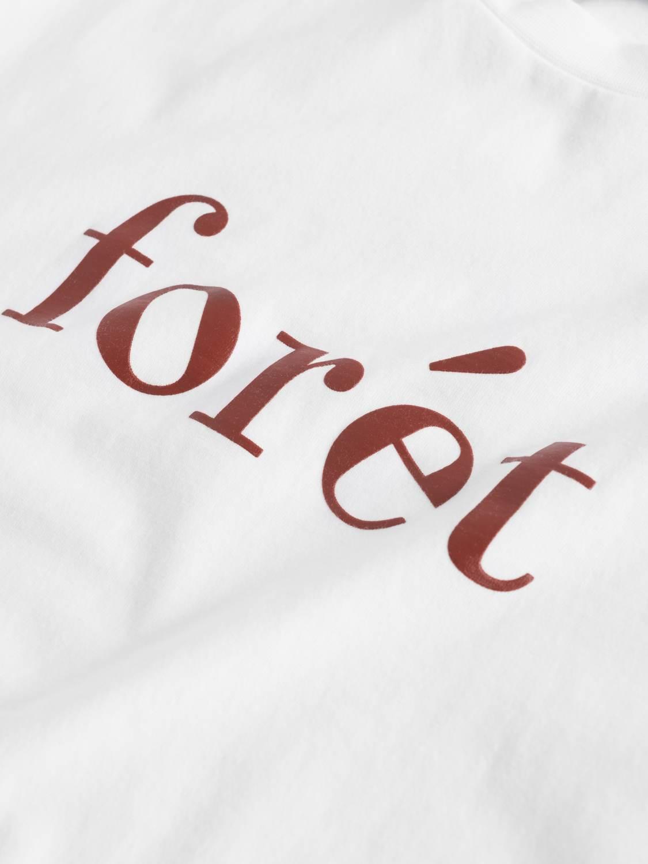 FORÉT - Trail T-Shirt white/ burnt red | Gate36 Hobro