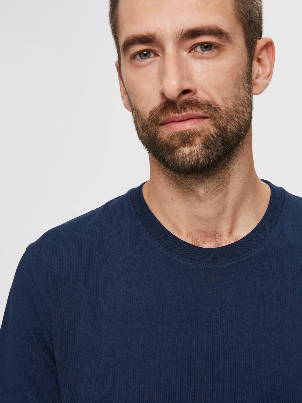 Selected - T-shirt o-neck Navy | Gate36 Hobro