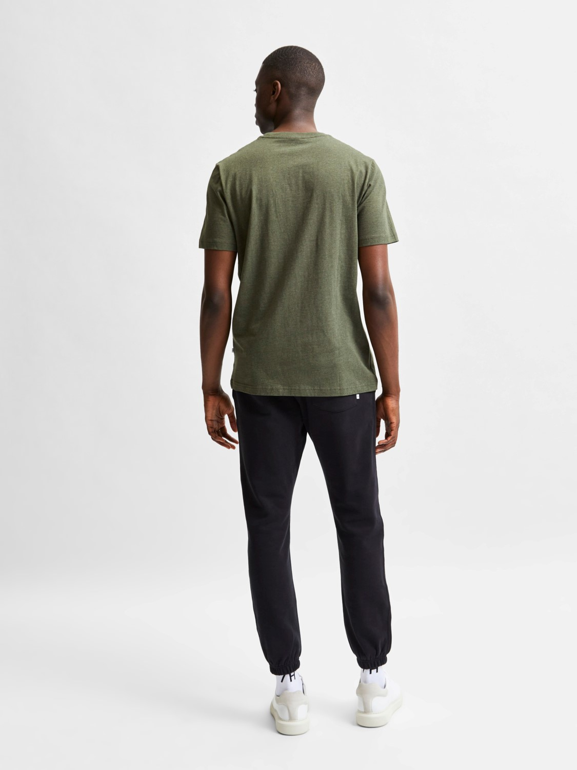 Selected - T-shirt O-neck forest night | Gate36 Hobro