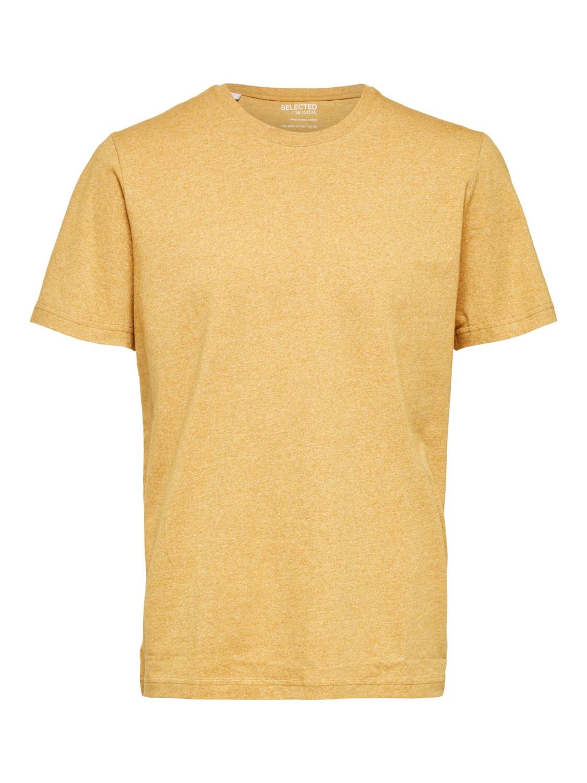 Selected - T-shirt O-neck wood thrush/melange | Gate36 Hobro