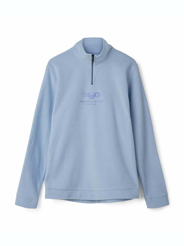 H2O Blåvand Fleece Half Zip baby blue | GATE 36 Hobro