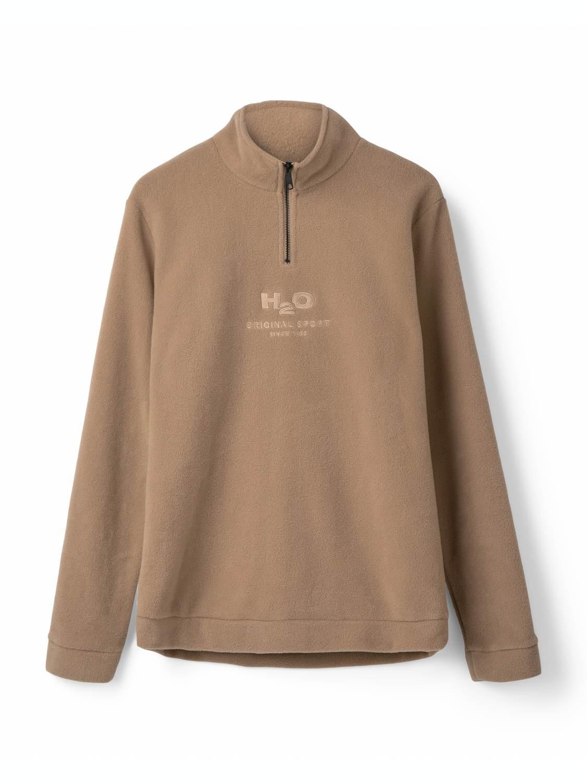 H2O Blåvand Fleece Half Zip Khaki | GATE 36 Hobro