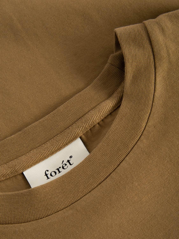 FORÉT - Air T-Shirt BURNT KHAKI | GATE 36 Hobro
