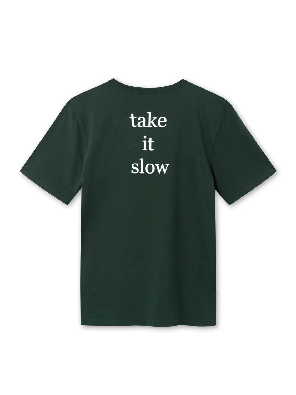 FORÉT - Book T-Shirt Dark Green | GATE 36 Hobro