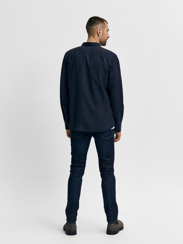 Selected Jeans - Leon 6291 super st dark blue denim | Gate36 Hobro