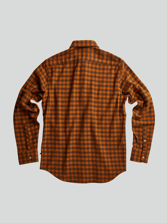 NN07 Skjorte Errico 5166 Orange Check | GATE 36 HOBRO