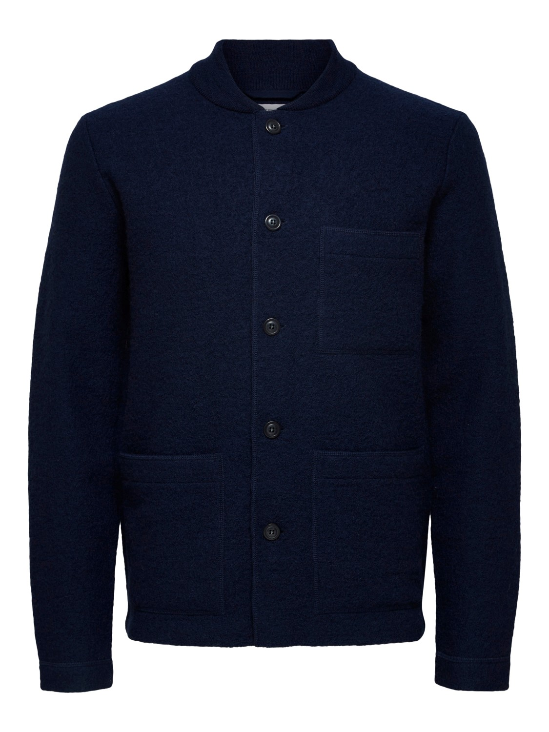 SELECTED - SLHROAN WORKWEAR KNIT CARDIGAN NAVY | Gate36 Hobro