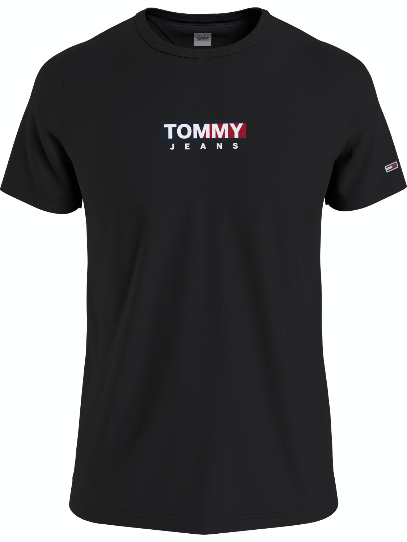 TOMMY HILFIGER T-SHIRT ENTRY PRINT BLACK | GATE 36 HOBRO