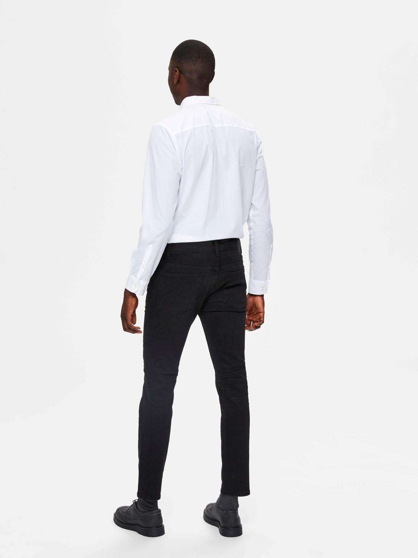 Selected Jeans - Slim Leon 4003 Black   GATE 36 HOBRO