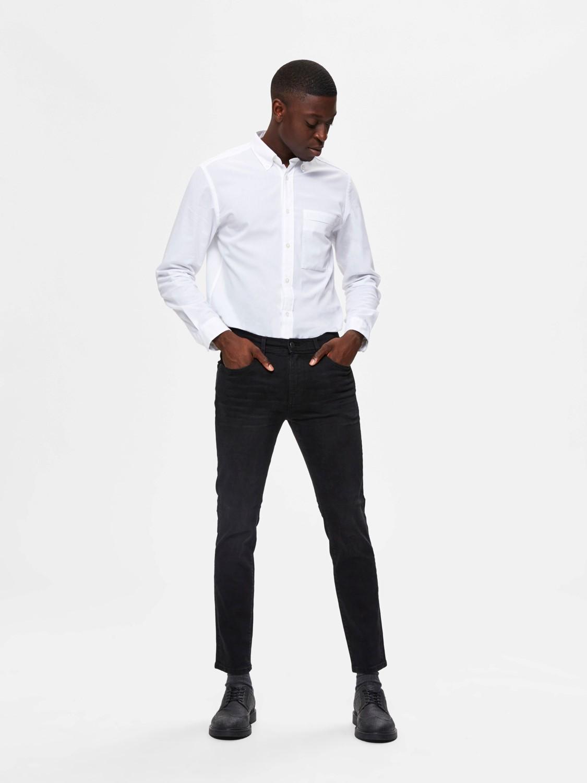 Selected Jeans - Slim Leon 4003 Black | GATE 36 HOBRO
