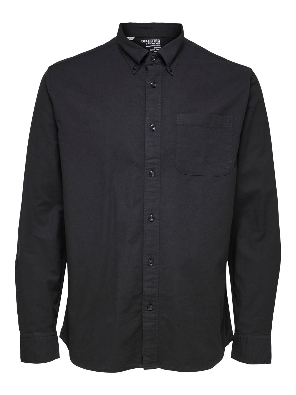 Selected Skjorte - Slhsregrick-ox Black | GATE 36 HOBRO