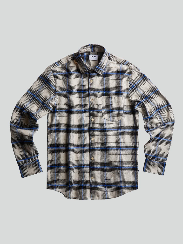 NN07 Skjorte Errico 5166 White Check | GATE 36 HOBRO