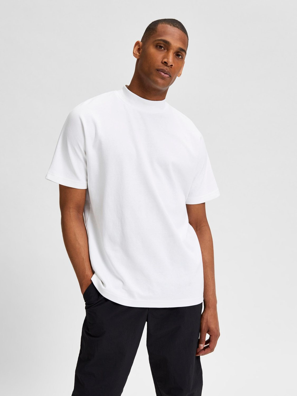 Selected T-shirt - SLHRELAXMART BRIGHT WHITE | GATE 36 HOBRO